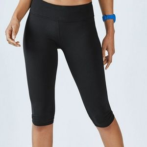 Fabletics | Black Salar Crop Sz XXS